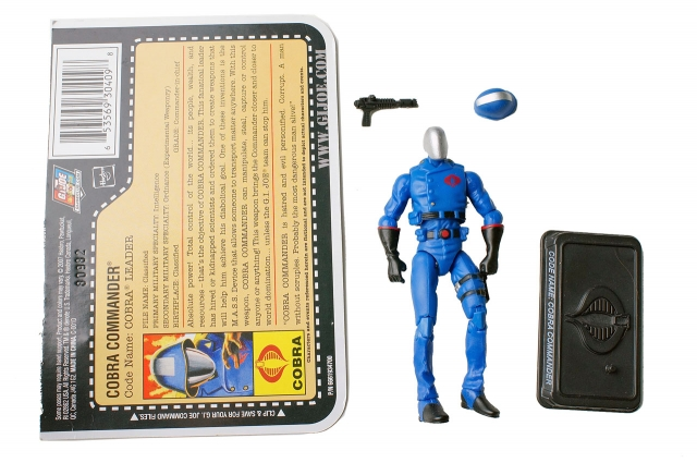 GIJoe - 25th Anniversary - Cobra Commander - Loose