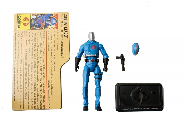 GIJoe - 25th Anniversary - Cobra Commander - SRO Pack - Loose 100% Complete