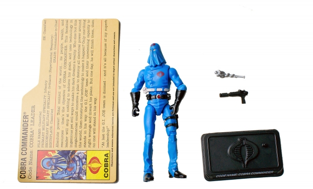 GIJoe - 25th Anniversary - Cobra Commander - DVD Battle Pack 4 - Loose