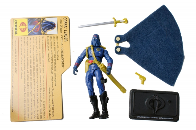 GIJoe - 25th Anniversary - Cobra Commander - Comic Pack - Loose 100% Complete