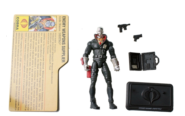 GIJoe - 25th Anniversary - Destro - Cobra Battle Pack - Loose