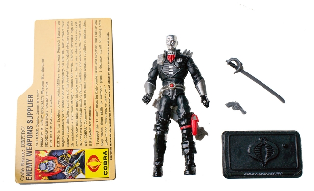 GIJoe - 25th Anniversary - Destro - Ultimate Battle Pack - Loose 100% Complete