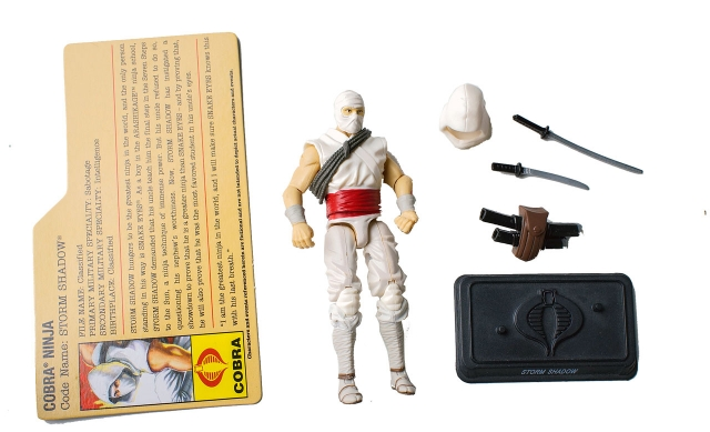 GIJoe - Resolute - Storm Shadow - Cobra Battle Set - Loose 100% Complete