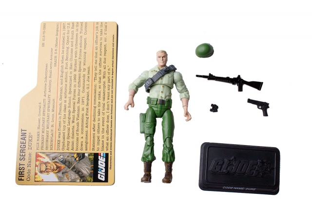 GIJoe - 25th Anniversary - Duke - SRO Pack - Loose 100% Complete