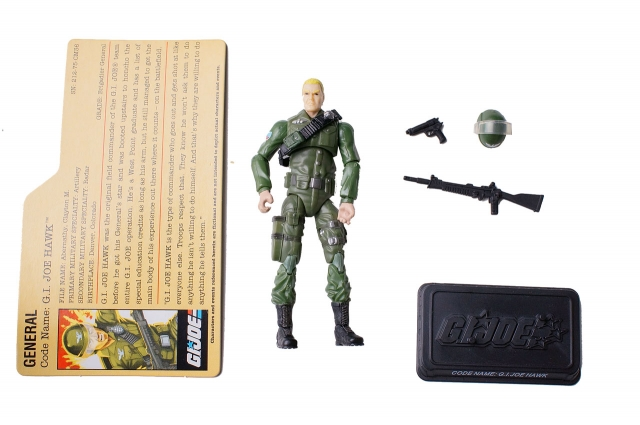 GIJoe - 25th Anniversary - Hawk - SRO Pack - Loose 100% Complete