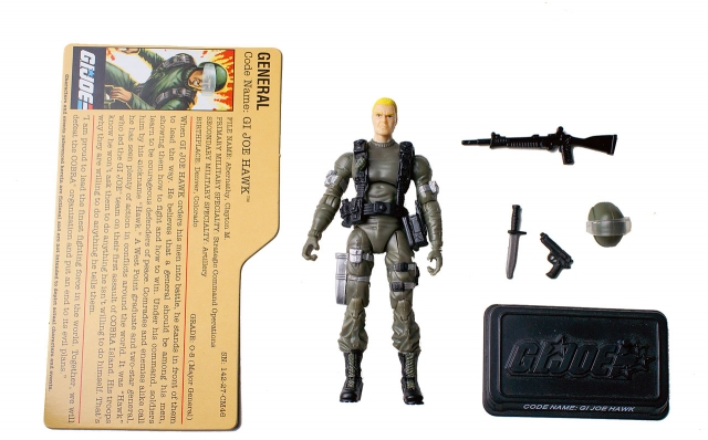 GIJoe - 25th Anniversary - Hawk - Comic Pack - Loose 100% Complete