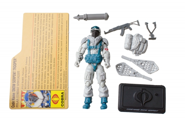 GIJoe - 25th Anniversary - Snow Serpent - Heavy Weapons Specialist - Loose 100% Complete