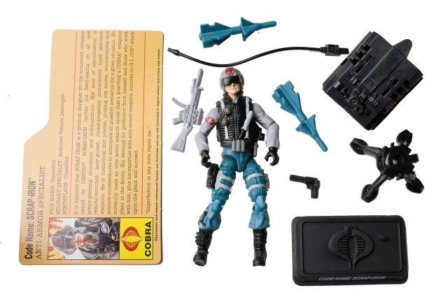 GIJoe - 25th Anniversary - Scrap-Iron - Arctic Assault - Loose 100% Complete