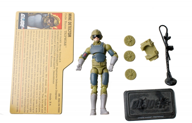 GIJoe - 25th Anniversary - Trip-Wire - Comic Pack - Loose 100% Complete