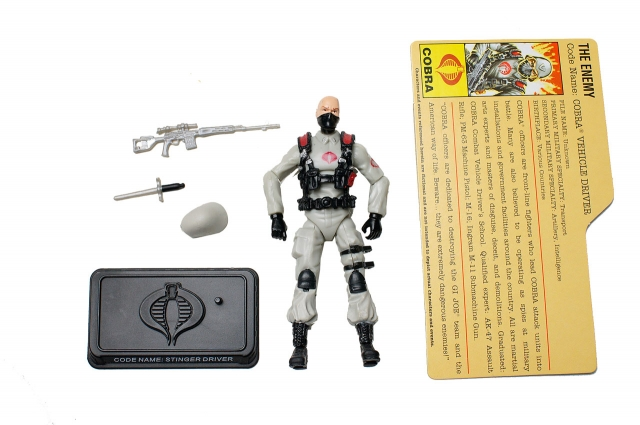 GIJoe - 25th Anniversary - Cobra Vehicle Driver - Cobra Legion Pack - Loose 100% Complete