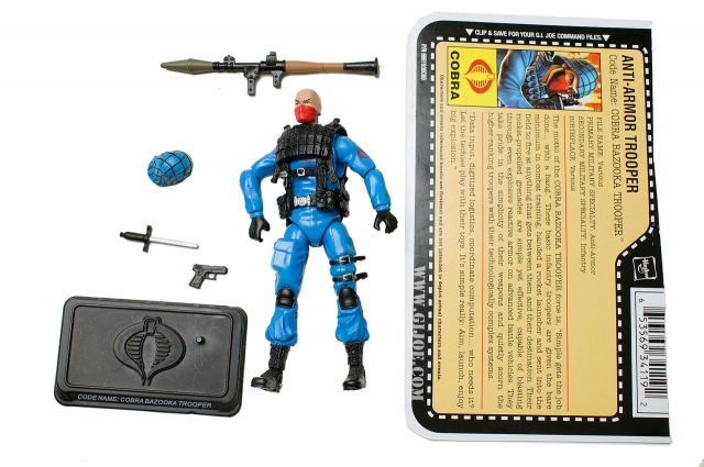 GIJoe - 25th Anniversary - Bazooka Trooper - Loose 100% Complete