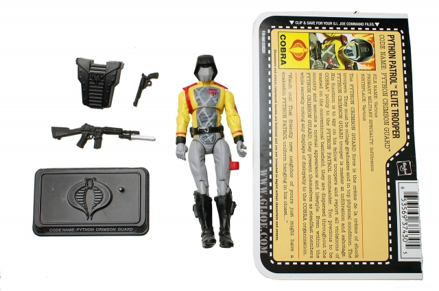 GIJoe - 25th Anniversary - Python Crimson Guard - Loose 100% Complete