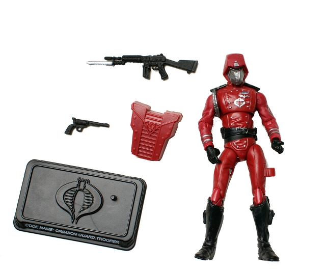 GIJoe - 25th Anniversary - Crimson Guard - Loose 100% Complete