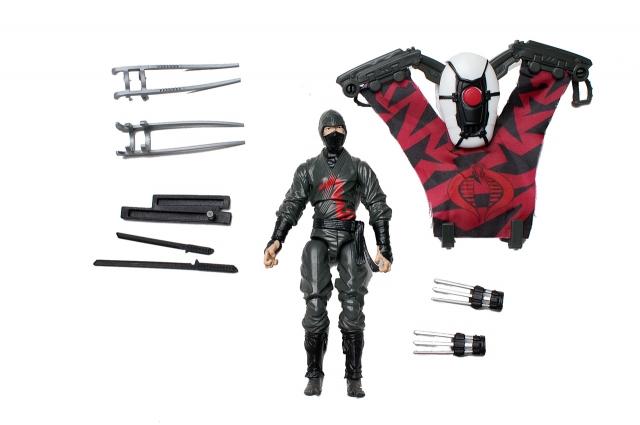 GIJoe - Retaliation - Dark Ninja - Loose 100% Complete