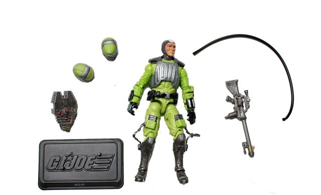 GIJoe - 30th Anniversary - Sci-Fi - Seymour Fine - Loose 100% Complete