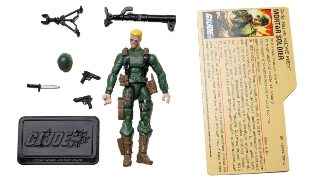 GIJoe - 25th Anniversary - Short-Fuze - Loose 100% Complete