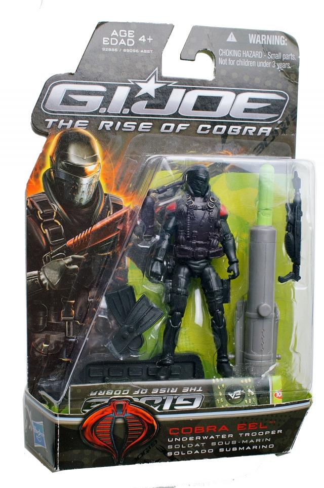 GIJoe - Rise of Cobra - Cobra Eel - MOSC