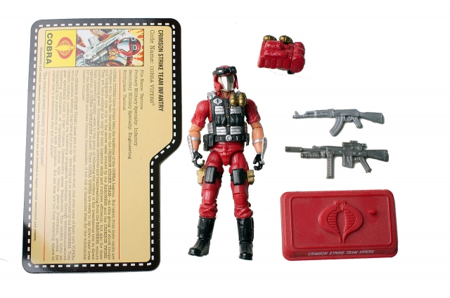 GIJoe - JoeCon 2009 - Crimson Strike Team Infantry Viper - Loose 100% Complete