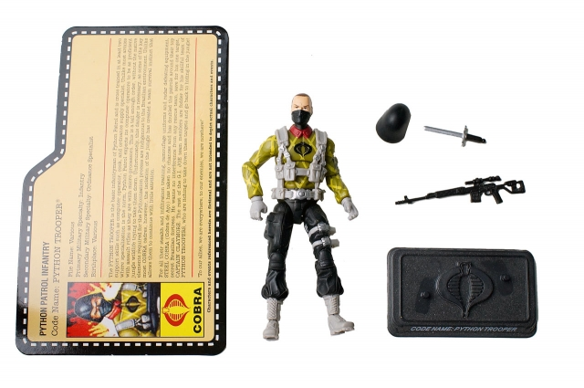 GIJoe - JoeCon 2011 - Python Trooper - Loose 100% Complete