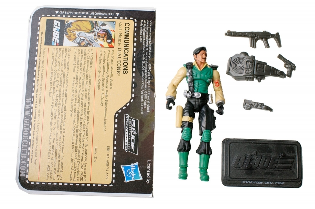 GIJoe 2010 - Subscription Figure - Dial-Tone - Loose 100% Complete