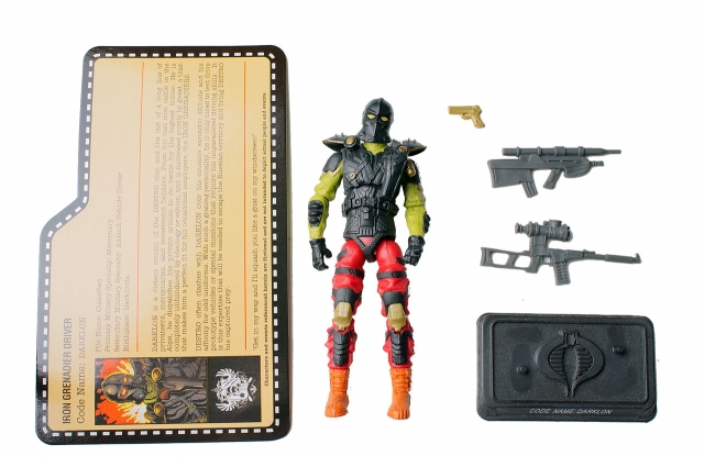 GIJoe - JoeCon 2012 - Darklon - Loose 100% Complete