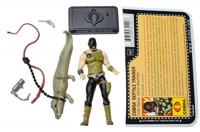 GIJoe - 25th Anniversary - Croc Master - Loose 100% Complete