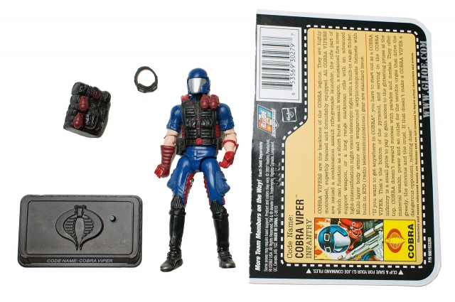 GIJoe - 25th Anniversary - Cobra Viper - Loose