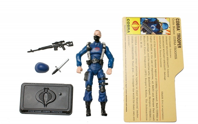 GIJoe - 25th Anniversary - Cobra Trooper - SRO Pack - Loose 100% Complete