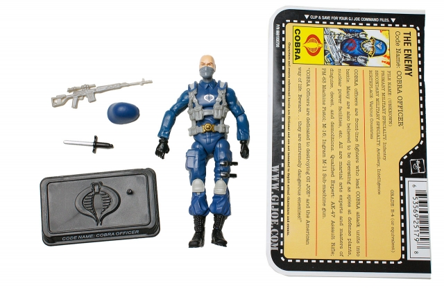 GIJoe - 25th Anniversary - Cobra Officer - Loose 100% Complete