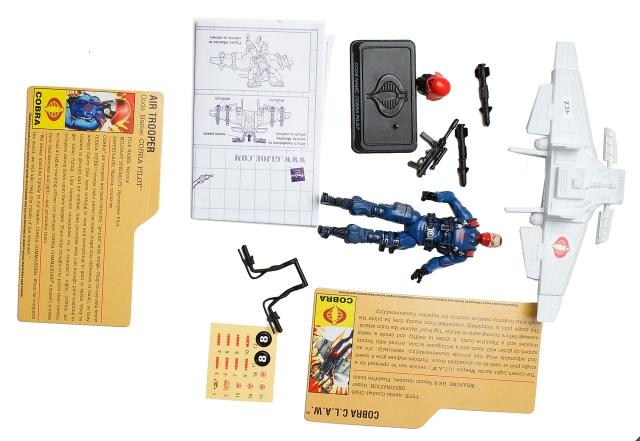 GIJoe - 25th Anniversary - Cobra Pilot with Cobra CLAW - Loose 100% Complete