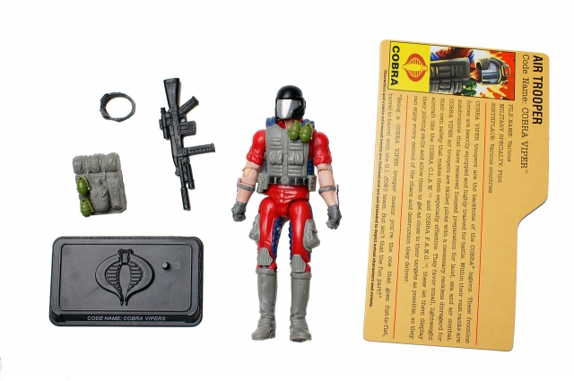 GIJoe - 25th Anniversary - White Claw Air Trooper - Loose 100% Complete