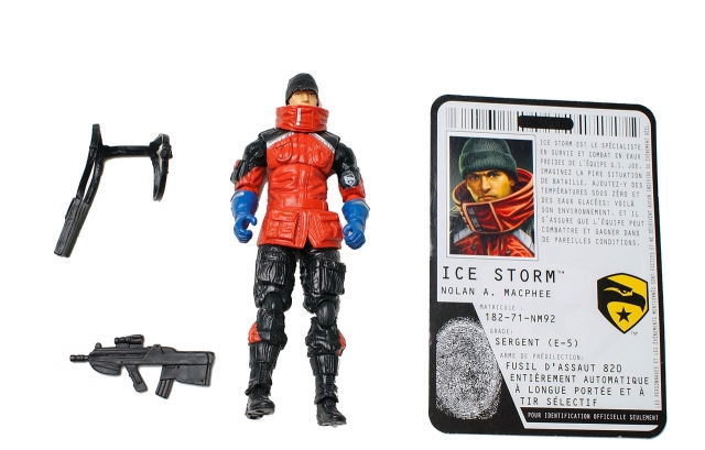 GIJoe - Rise of Cobra - Ice Storm - Loose 100% Complete