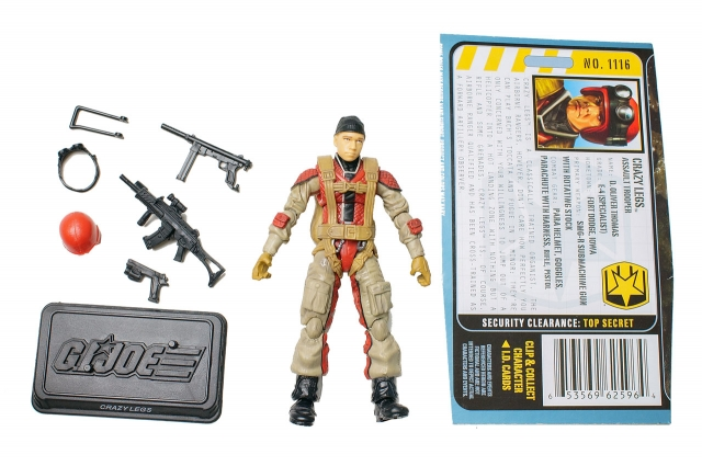 GIJoe - Pursuit of Cobra - Crazy Legs - Loose 100% Complete