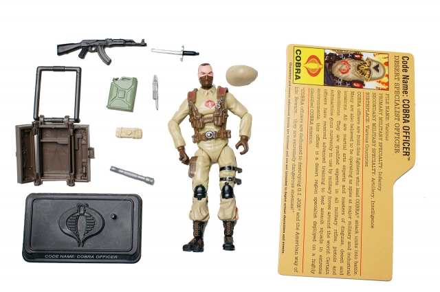 GIJoe - 25th Anniversary - Cobra Officer - Desert Assault - Loose 100% Complete