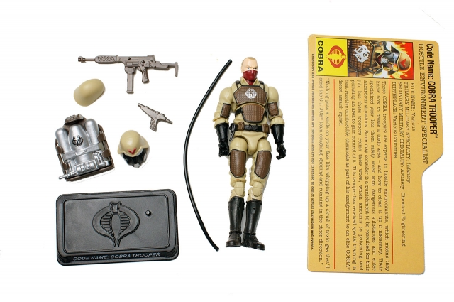 GIJoe - 25th Anniversary - Cobra Trooper - Hostile Environment Specialist - Loose 100% Complete