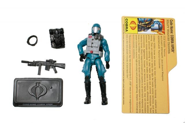 GIJoe - 25th Anniversary - Cobra Viper - Arctic Assault Squad - Loose 100% Complete