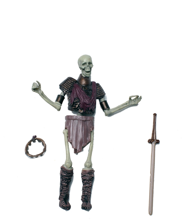 GIJoe - 25th Anniversary - Montezuma's Skeleton - Loose 100% Complete