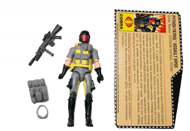 GIJoe - 25th Anniversary - Python Patrol Viper - Target Exclusive - Loose 100% Complete
