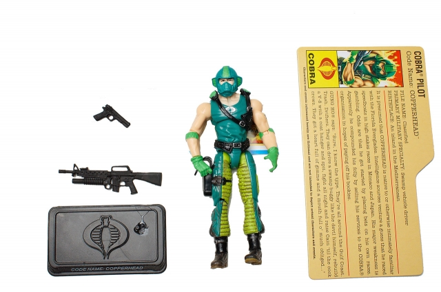 GIJoe - 25th Anniversary - Copperhead - Comic Pack - Loose 100% Complete