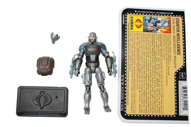 GIJoe - 25th Anniversary - Mercenary Wraith - Loose