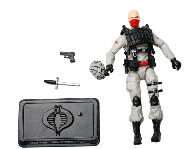 GIJoe - 25th Anniversary - Stinger Driver - Loose 100% Complete