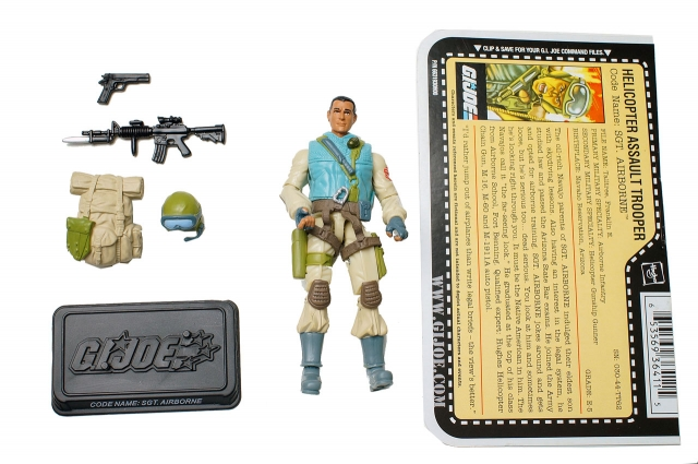 GIJoe - 25th Anniversary - Airborne - Loose 100% Complete