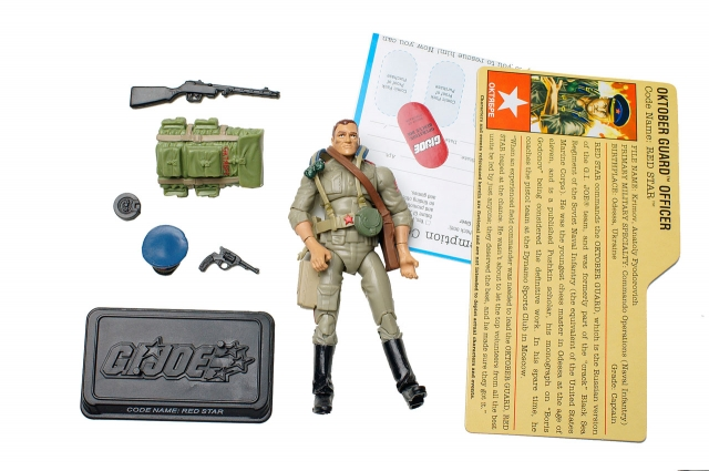 GIJoe - 25th Anniversary - Red Star - Loose