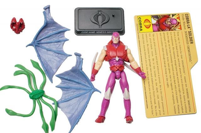 GIJoe - 25th Anniversary - Nemesis Immortal - Comic Pack - Loose 100% Complete
