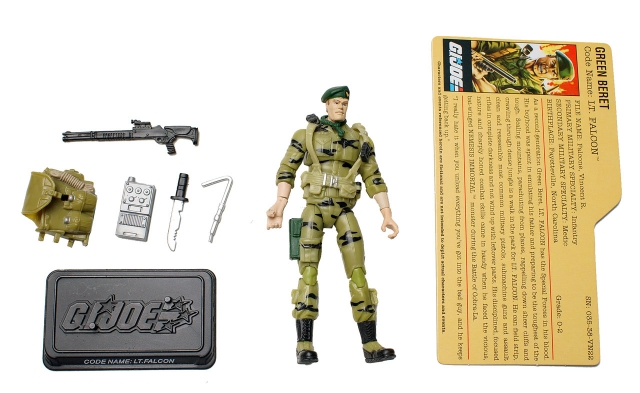 GIJoe - 25th Anniversary - Lt. Falcon - Comic Pack - Loose 100% Complete
