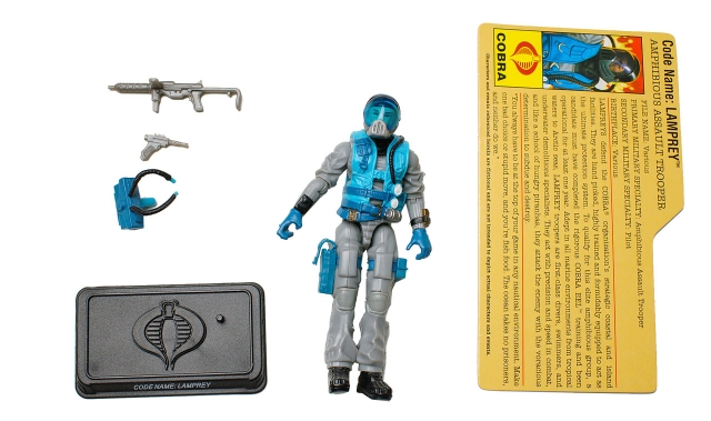 GIJoe - 25th Anniversary - Lamprey - Defense of Cobra - Loose 100% Complete