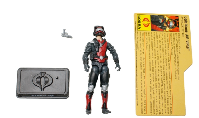GIJoe - 25th Anniversary - Air-Viper Commando - Loose 100% Complete