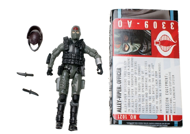 GIJoe - Pursuit of Cobra - Alley-Viper Officer - Loose 100% Complete