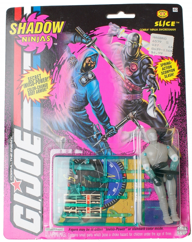 GIJoe - Shadow Ninja - Slice - MOSC