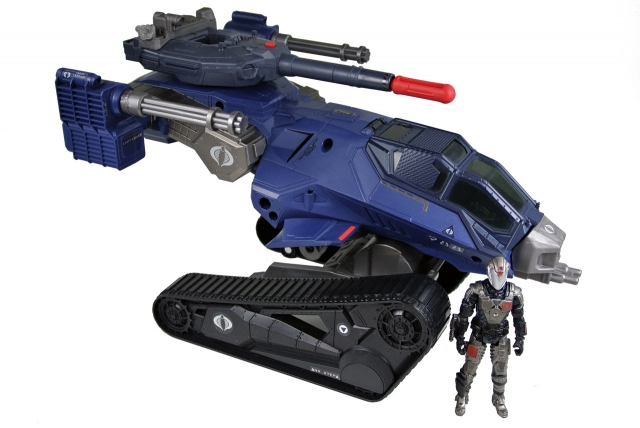 GIJoe - Retaliation - Cobra Commander with H.I.S.S. Tank - Loose 100% Complete